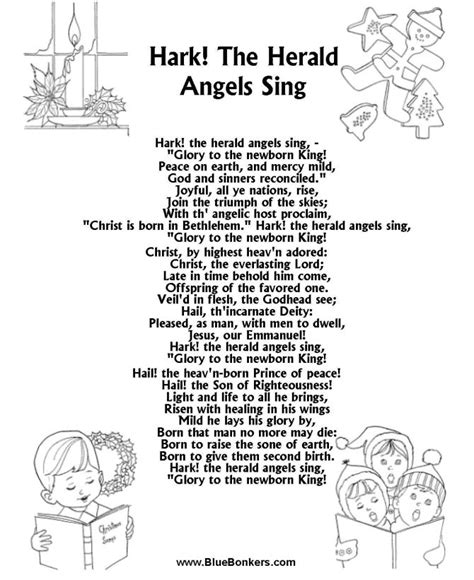 printable christmas carol song lyrics 76 best carols images on carol and la la la