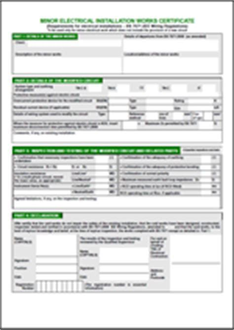 Dorable Pat Testing Certificate Template Photo Examples
