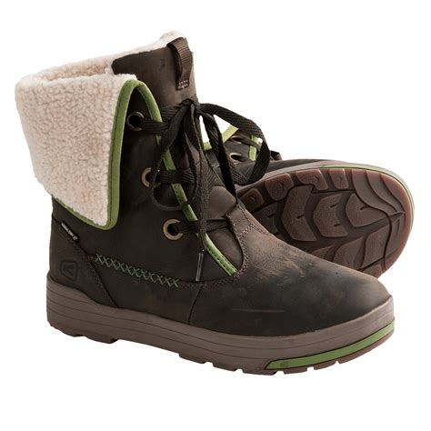 keen snowmass low boots waterproof leather for