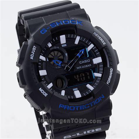 G Shock 5369 Rantai Black Blue Kw g shock g lide kw gax 100b 2a hitam biru bagian depan