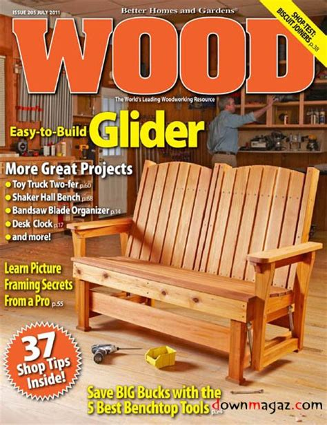 wood july    magazines magazines