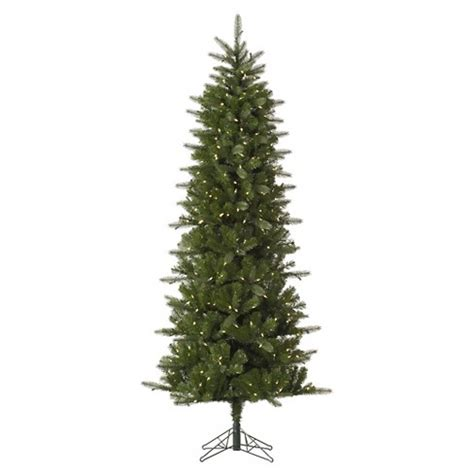 light weight christmas trees 6 5ft pre lit artificial tree slim spruce white led lights target