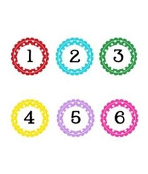 printable numbers on circles polka dot chevron owl classroom on pinterest colorful