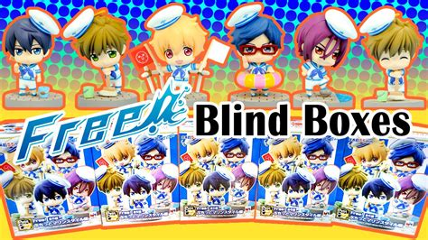 anime blind box anime free petit chara puchitto marine style random blind boxes with gumi and jeromi