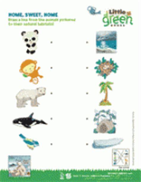 printable animal habitat matching game home sweet home animal habitats matching activity k