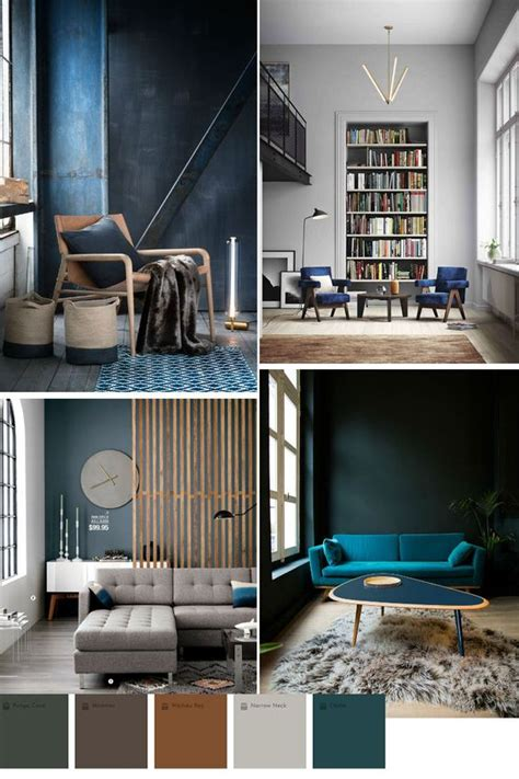 blue color trend in home decor 2016 2017 interior