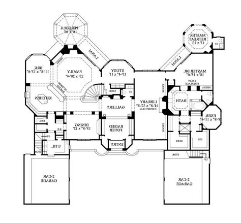 large one story house plan big kitchen with walk in home design 79 inspiring 1 story house planss