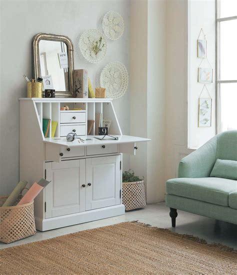 chaise blanche et bois 2833 bureau blanc la redoute ides