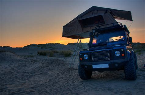 land rover defender 90 110 expedition roof tent with