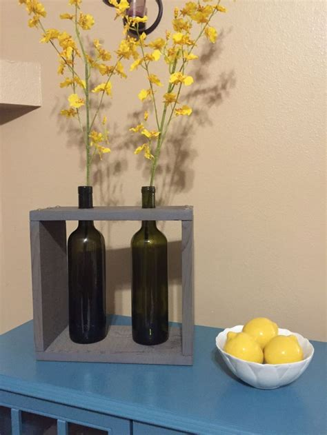 wine bottle vase centerpieces 17 best ideas about wine bottle vases on wine