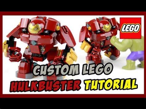 Lego Hulkbuster Tutorial   custom lego hulkbuster tutorial bigfigure scale youtube