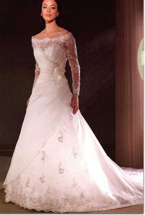 wedding gowns with sleeves wedding dresses with sleeves 2011 afunpoint