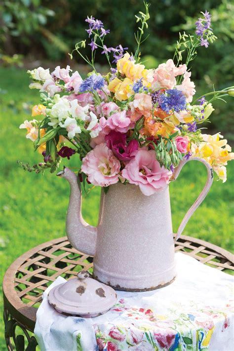 Vase Flowers Garden 417 best flowers in jugs images on flower