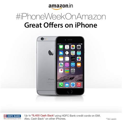 Amazon India Gift Card - amazon india iphone week company offering discounts gift cards worth up to 8 400
