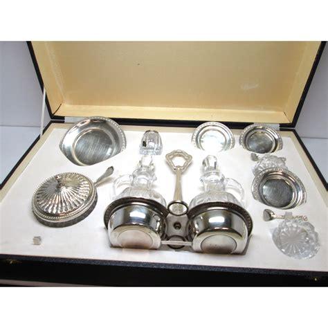 servizi da tavola servizio da tavola in argento d epoca anni 60 70