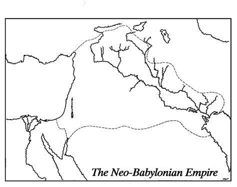 Ancient Near East Map Outline by Prophets General Prophecy And Renewal