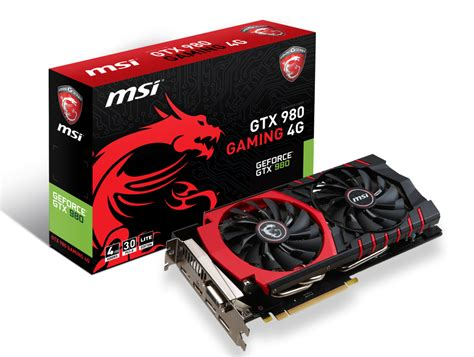 Msi Geforce Gtx 980 4096mb Ddr5 4gd5t Oc Armor 2x msi to offer geforce gtx 980 ti 960 970 gaming le