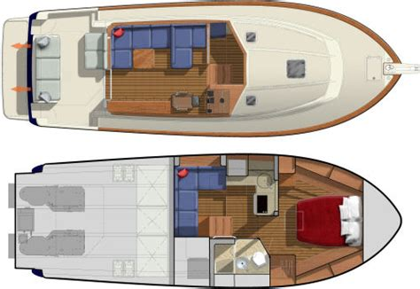 interior design layout sle sabre yachts 38 salon express 2014 2014 reviews
