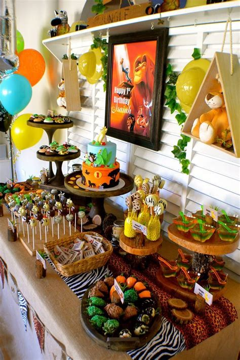 king themed birthday party best 25 lion king party ideas on pinterest jungle party