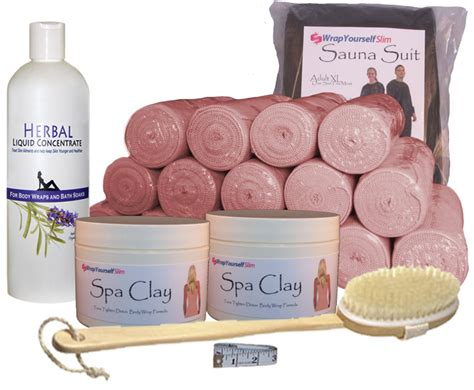 Change At Home Detox Wrap by Sea Clay Inch Loss Home Wrap Kit Ebay