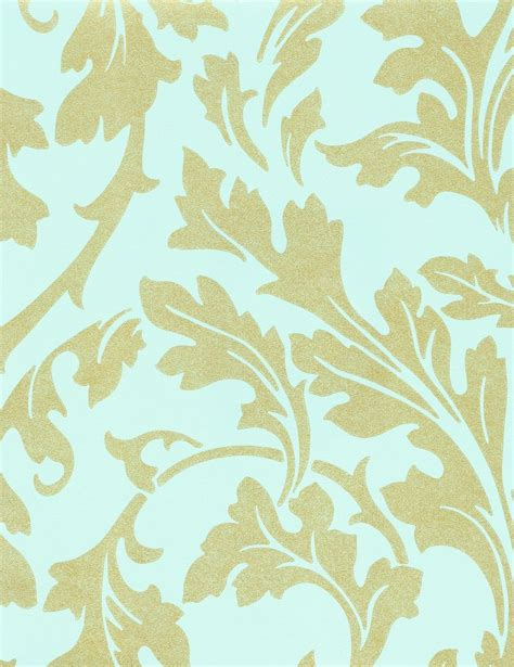 wallpaper turquoise gold decowunder wallpapers non woven wallpaper baroque