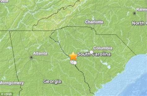 earthquake north carolina first ice storms now an earthquake america s southeast