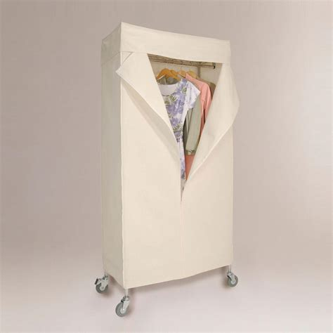 garment rack with canvas cover world market