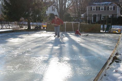 building a backyard rink outdoor furniture design