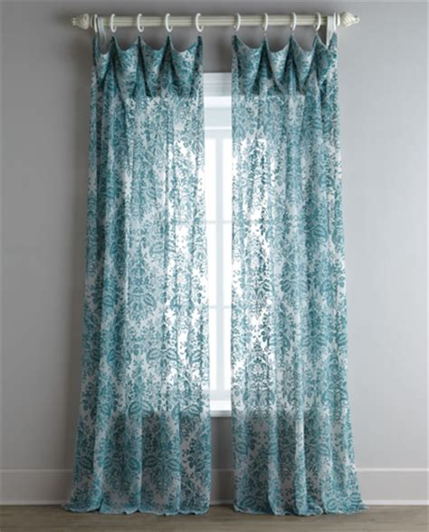 vintage sheer curtains window coverings everything turquoise page 4