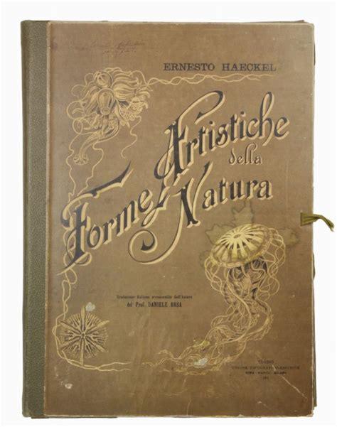libreria della natura haeckel enest forme artistiche della natura traduzione