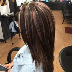 all color vs highlights multi dimensional color beige and light violet highlights
