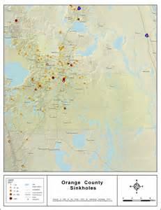 sinkholes in map sinkhole map orange county interactive florida sinkhole