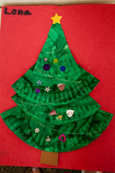 christmas tree craft preschool xmasblor