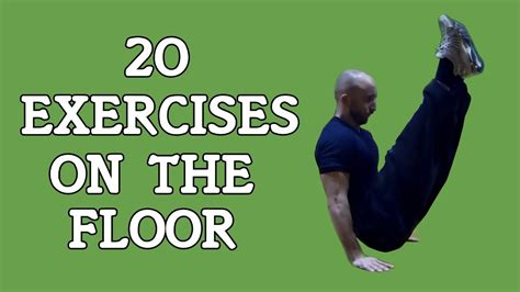 20 exercises on the floor