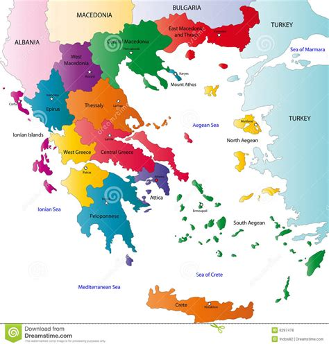 Kaos As Roma Desain Kode Asr 13 griechenland karte lizenzfreie stockfotos bild 6297478