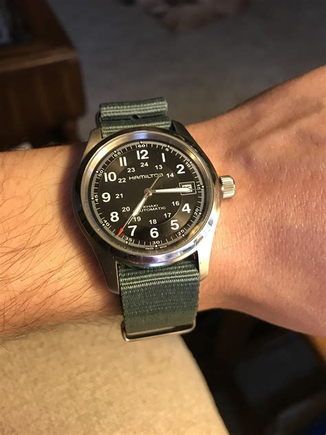 Hamilton Khaki Automatic hamilton khaki field automatic 38 mm watches