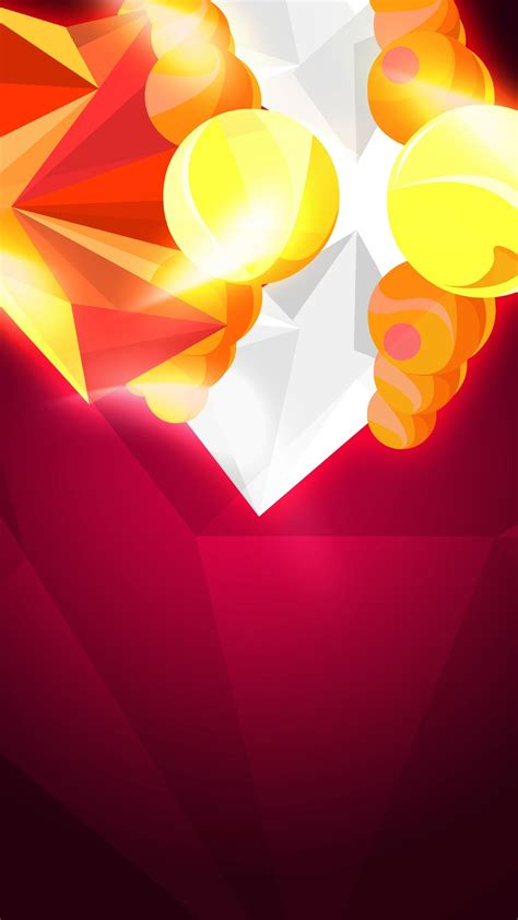 wallpaper android orange abstract orange crystals android wallpaper free download