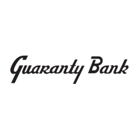garantee bank guaranty bank logo vector logo of guaranty bank brand