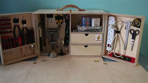 fold out work bench build a portable fold out toolkit and workbench for all