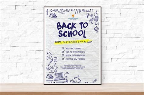 back to school flyer template back to school event flyer template flyer templates on