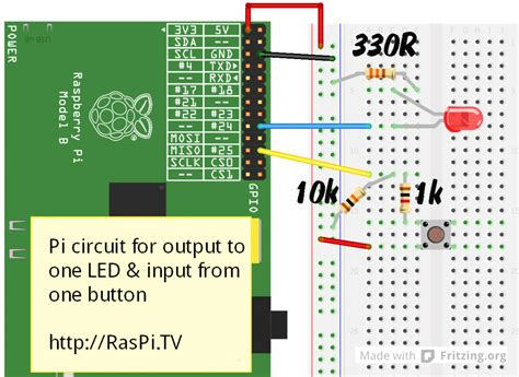 raspberry pi pull resistor rpi gpio basics 6 using inputs and outputs together with rpi gpio pull ups and pull downs