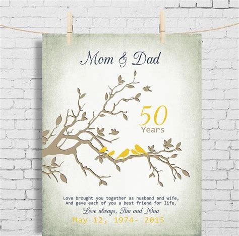 50th Wedding Anniversary Cards For Parents Uk