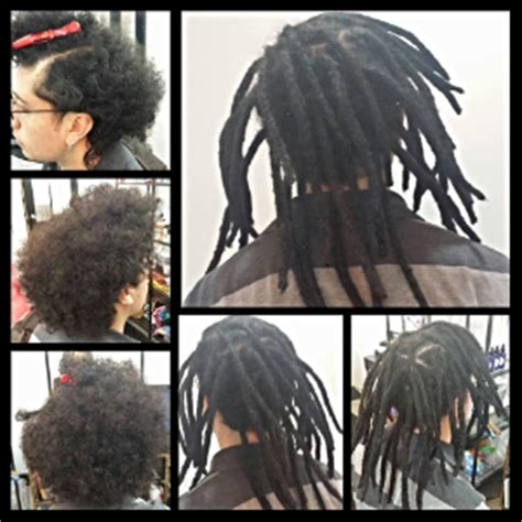 installing extension dreads in short hair services make me dreadful