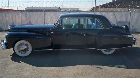 1948 lincoln continental coupe 1948 lincoln continental 2 door coupe 180701