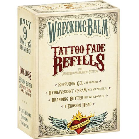 wrecking balm tattoo remover cost of a