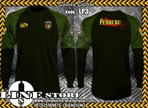 Special Kaos Perbakin kaos lengan panjang perbakin lp3 o line store productions