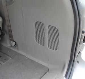 2003 Dodge Caravan Blower Motor How To Fix Dodge Grand Caravan Rear Blower Motor Resistor