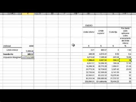 calculo mensual de isr de personas fisica 2016 sueldos y salarios calculo mensual y anual isr 2016 doovi