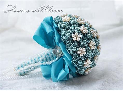 Buket Bunga Biru lynlynshop baju pesta butik indonesia gaun pengantin