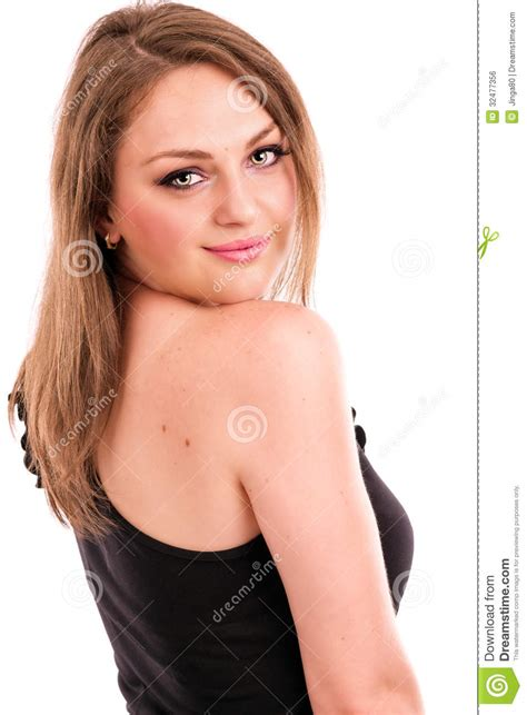 Women looking back over shoulder